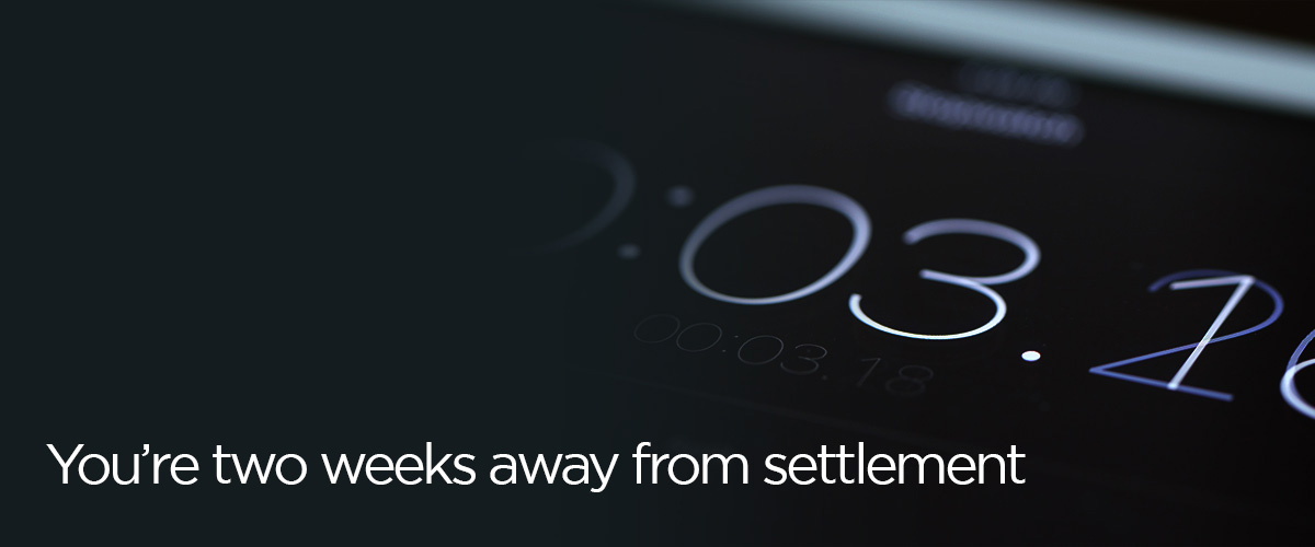Banner – 2 weeks text